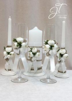 Комплект в белом цвете