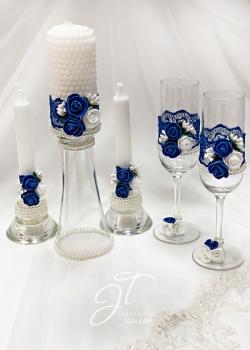 Комплект в синем цвете