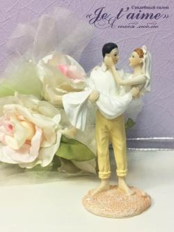 """Статуэтка """"Жених и невеста на пляже"""""""