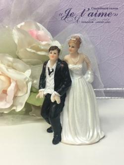 """Статуэтка """"Жених и невеста"""" № 2"""